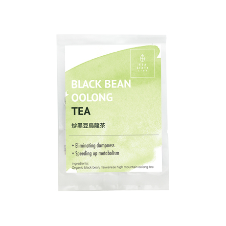 black bean oolong teabag